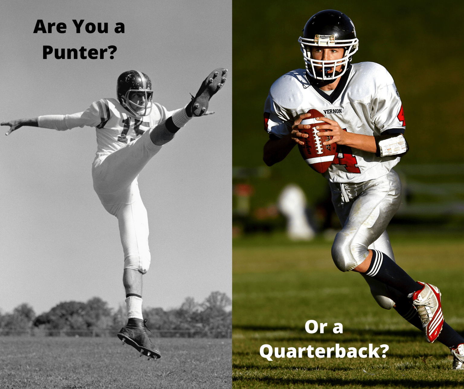 Leaders–Are You The Quarterback or the Punter?